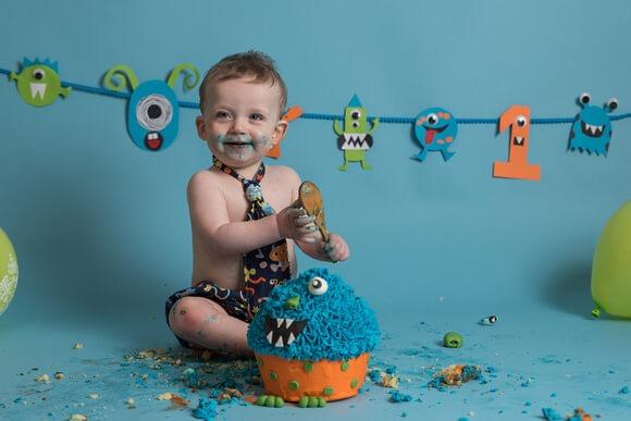 Cake Smash Photographer Lincolnshire
