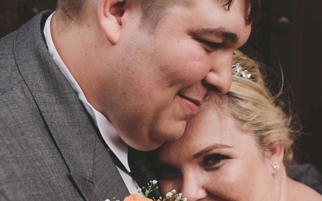 Zoe and Richard at Thorney Abbey, Peterborough