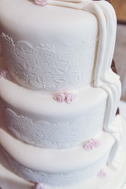 Slice of Life Photography - Photo of wedding cake, Boston wedding photographer