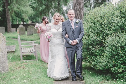 Church Wedding at Yaxley, Peterborough