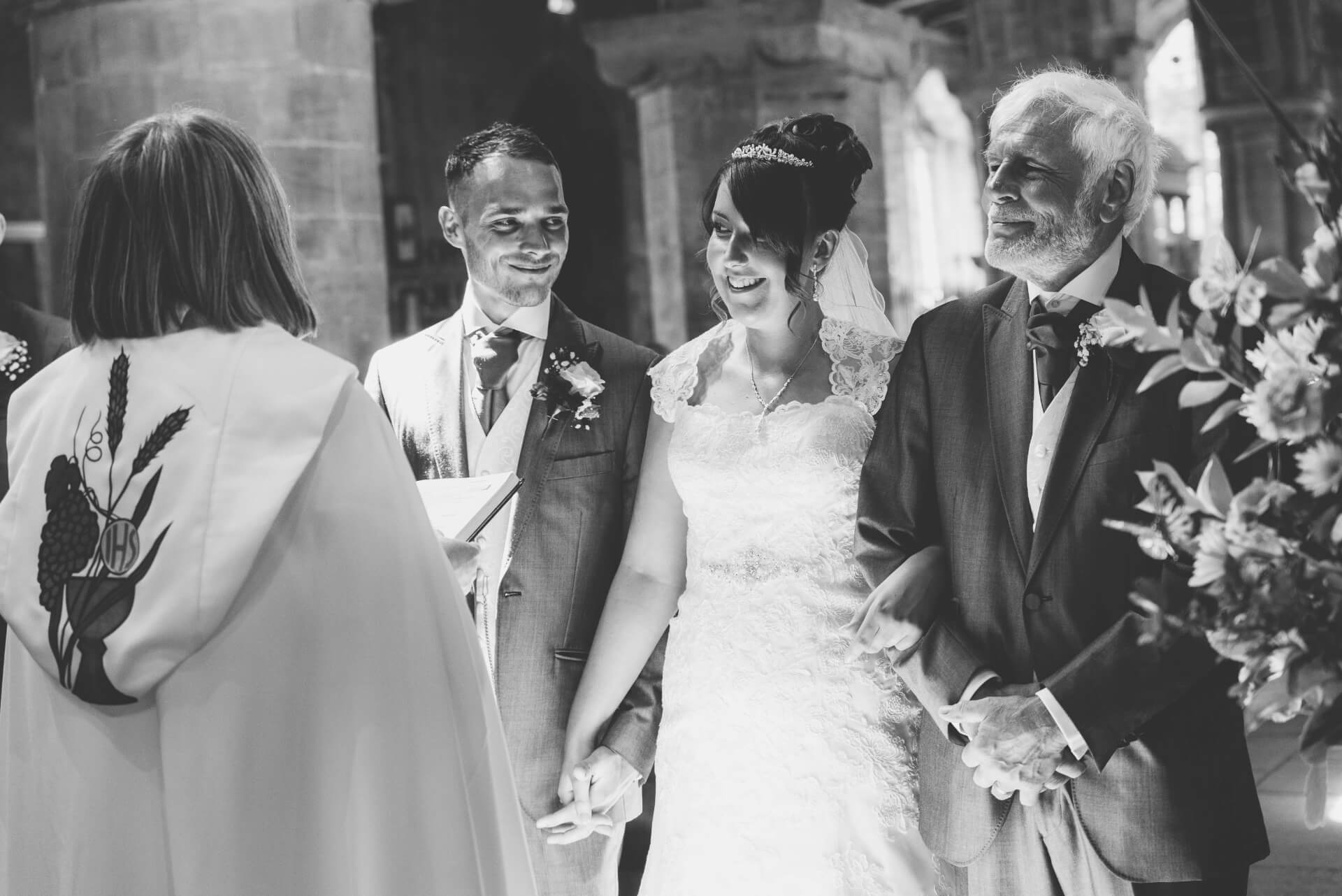 Whaplode Church Bride and Groom  - Lincolnshire wedding photographer Slice of Life Photography