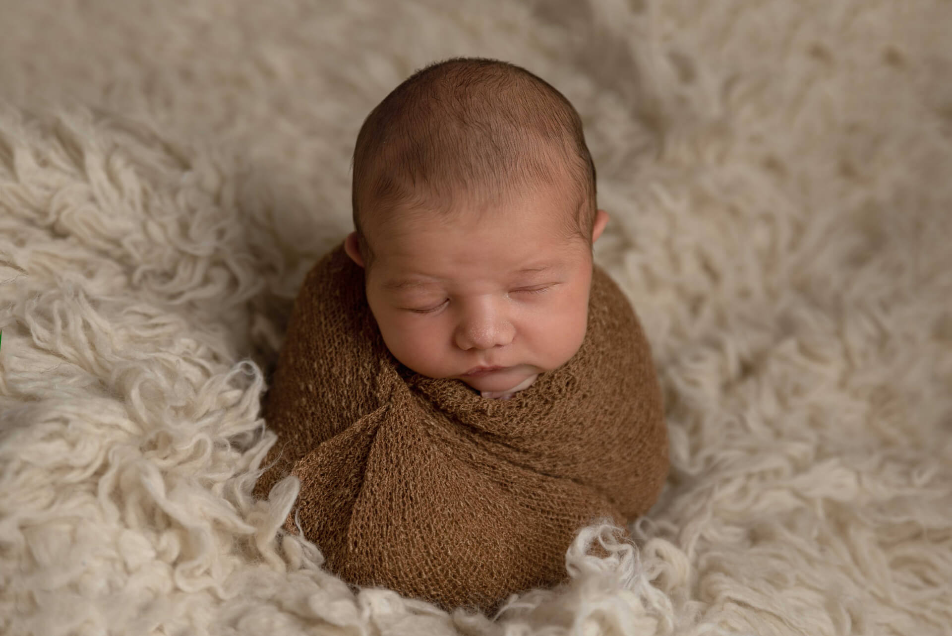 Wrapped newborn baby, Spalding newborn photographer - Slice of Life Photography